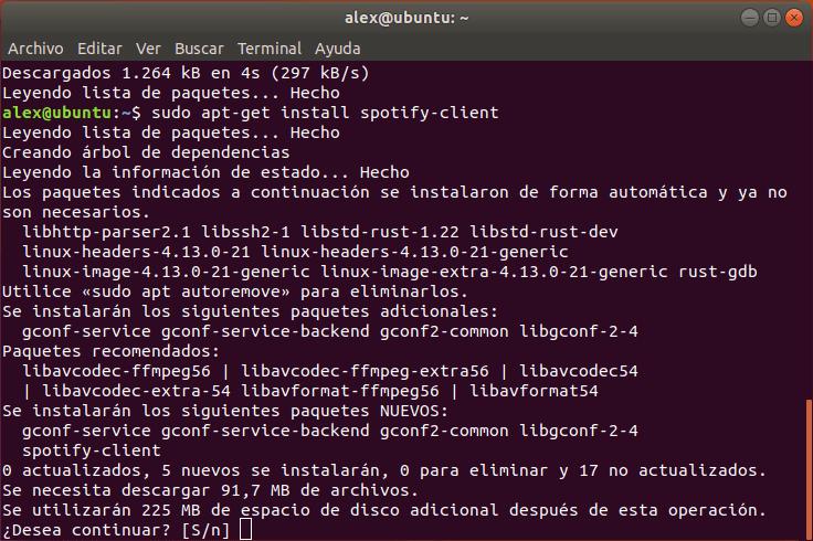 Instalar Spotify Linux Ubuntu
