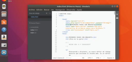 Cómo instalar Adobe Brackets en Linux
