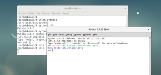 Cómo instalar Python 3.6 en Linux