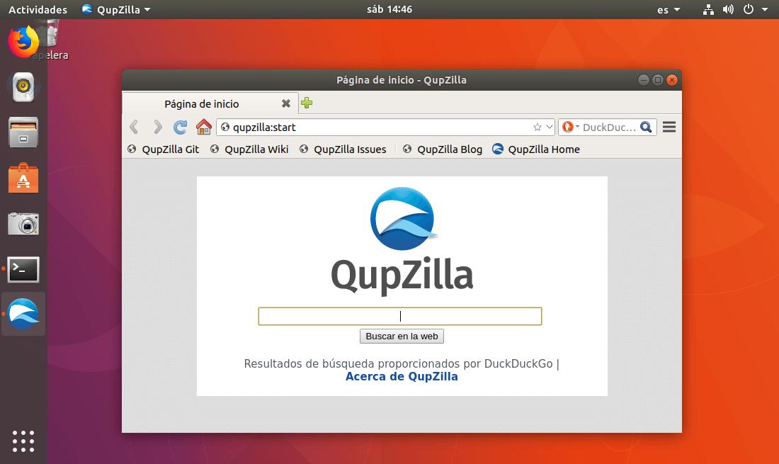 Cómo instalar navegador Qupzilla en Linux