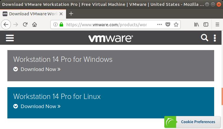 Descargar última versión VMware Workstation Pro