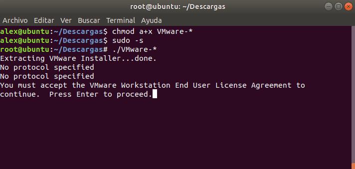 Instalar Vmware Workstation Pro