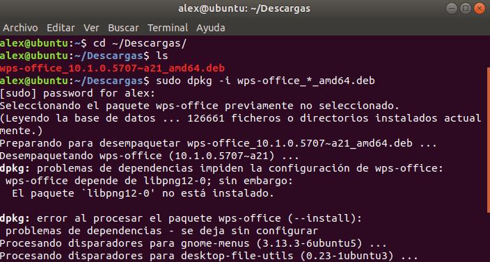 Instalar WPS Office para Ubuntu Debian