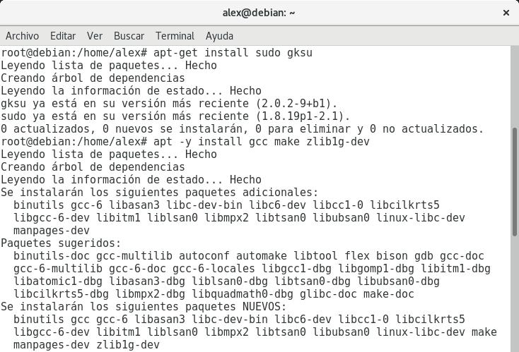 Instalar dependenciasPython 3.6