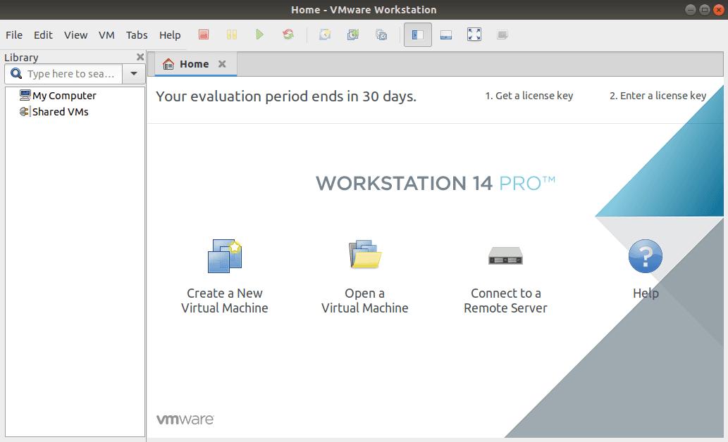 VMWare Workstation en Linux Ubuntu