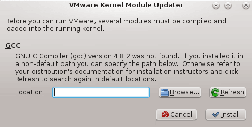 Vmware GCC GNU C Compiler