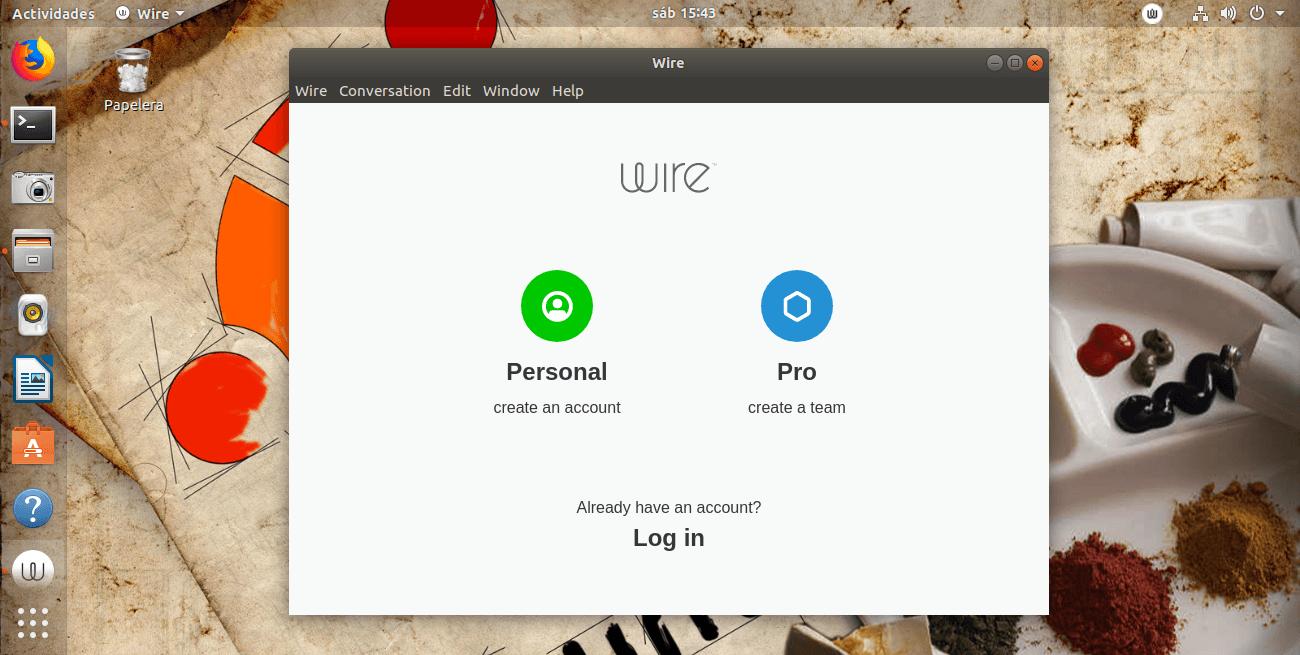 Cómo instalar Wire en Linux, Ubuntu, Debian
