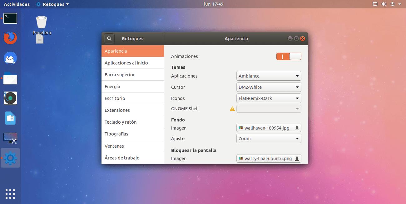 Cómo instalar el tema del icono Flat Remix en Linux