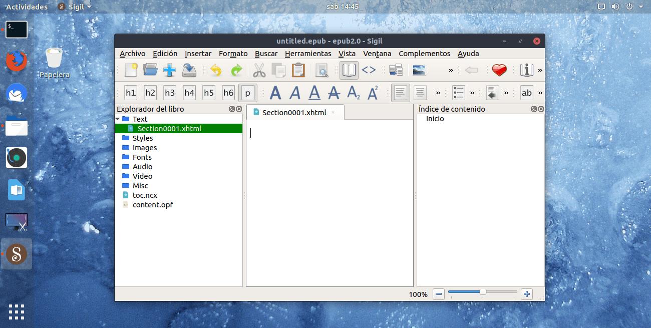 Cómo instalar el editor de ebooks Sigil en Linux