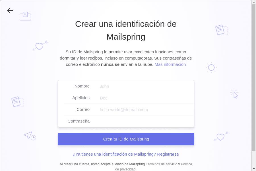 Utilizando Mailspring en Linux