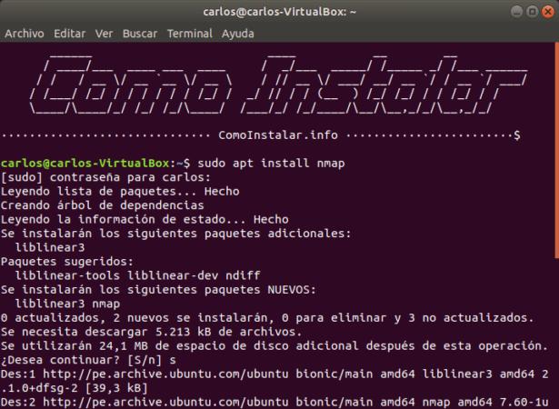 Configurar PPA Nmap en Linux