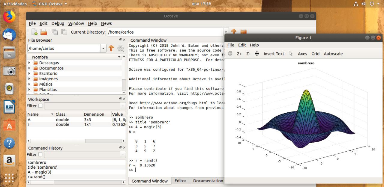 GNU Octave - Linux