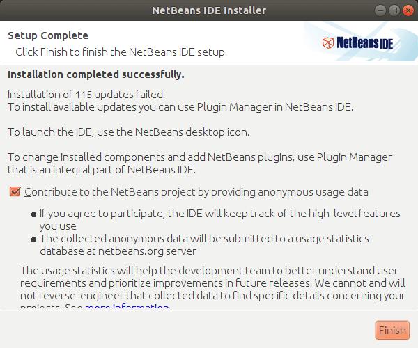 NetBeans IDE. Installer Img 6
