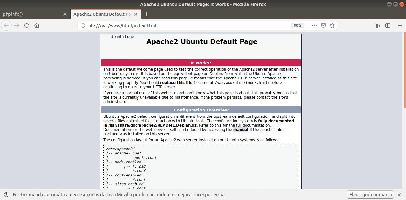 Apache2 Ubuntu - Linux