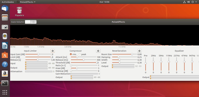 Cómo instalar el ecualizador de audio PulseEffects en Linux