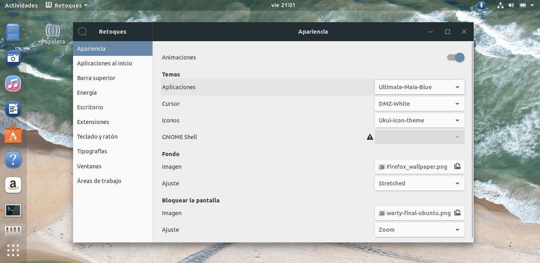 Cómo instalar Ultimate Maia GTK en Linux