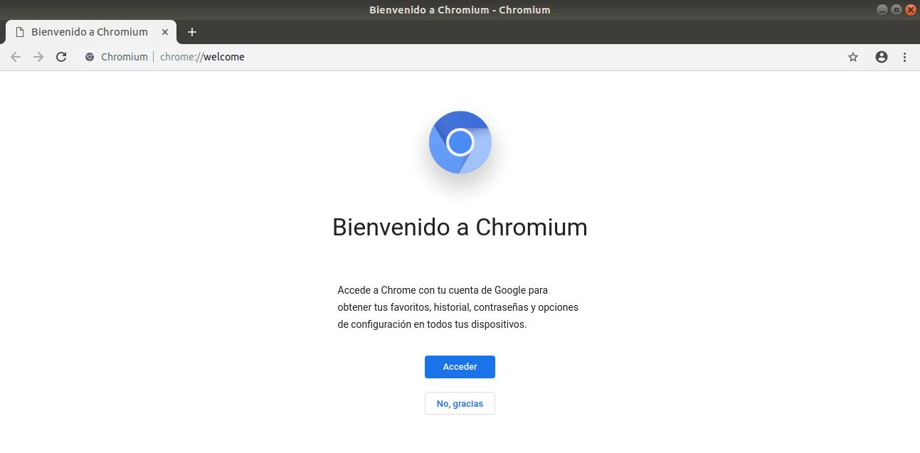 Chromium en Linux