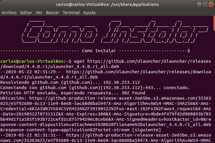 Configurar PPA ULauncher en Linux