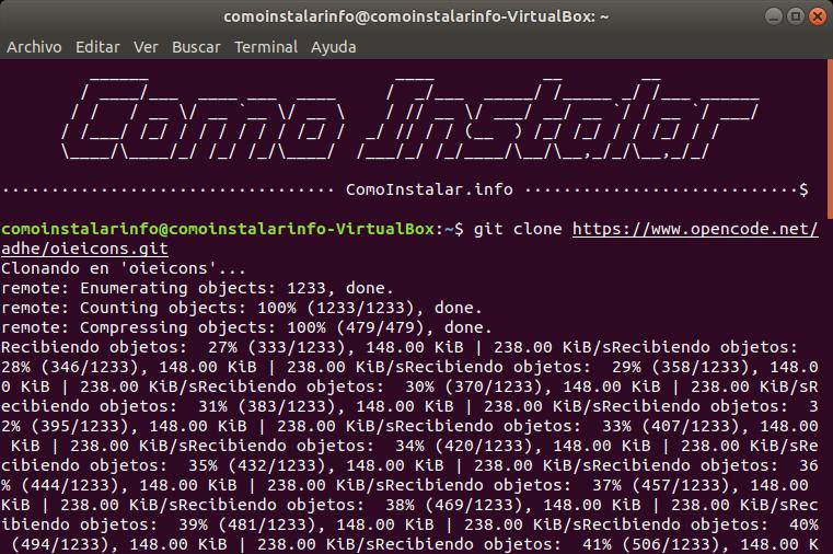 Configurar PPA tema del icono OieIcons en Linux