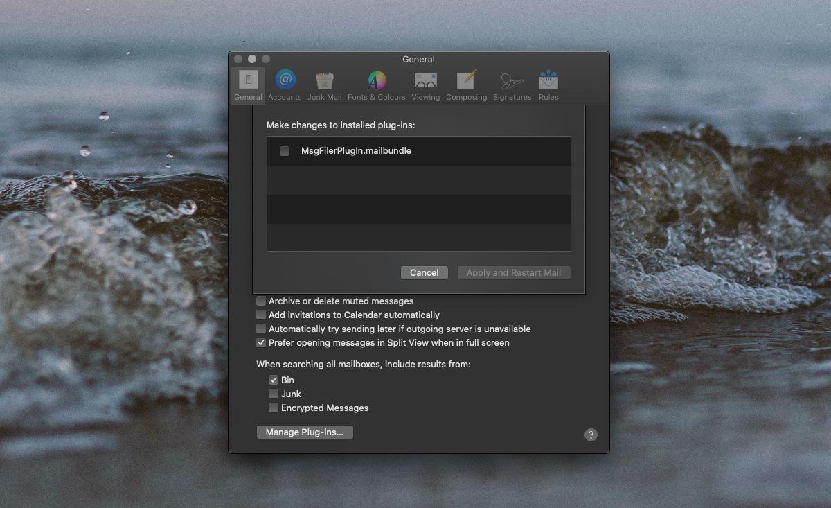 verificar complemento en MAC