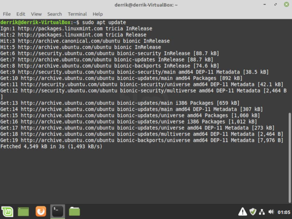 Linux mint19-3
