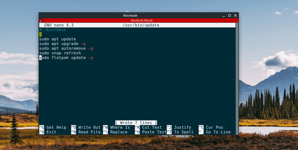 Actualizacion de ubuntu
