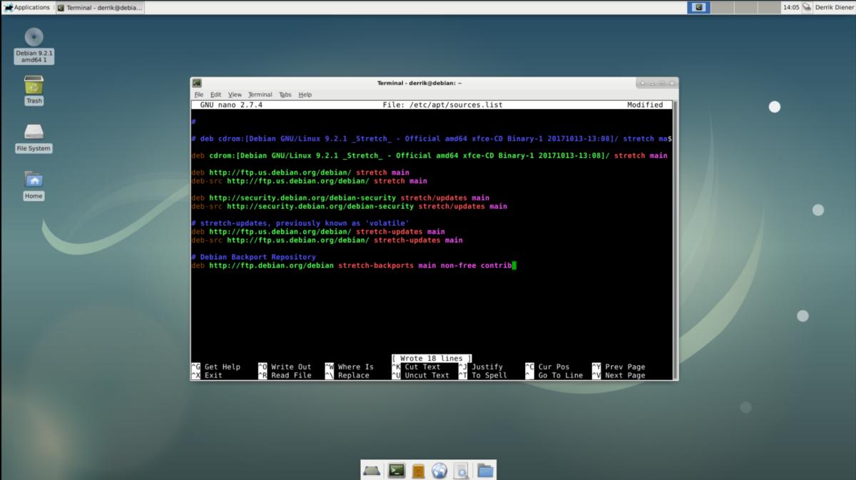 Debian stable1